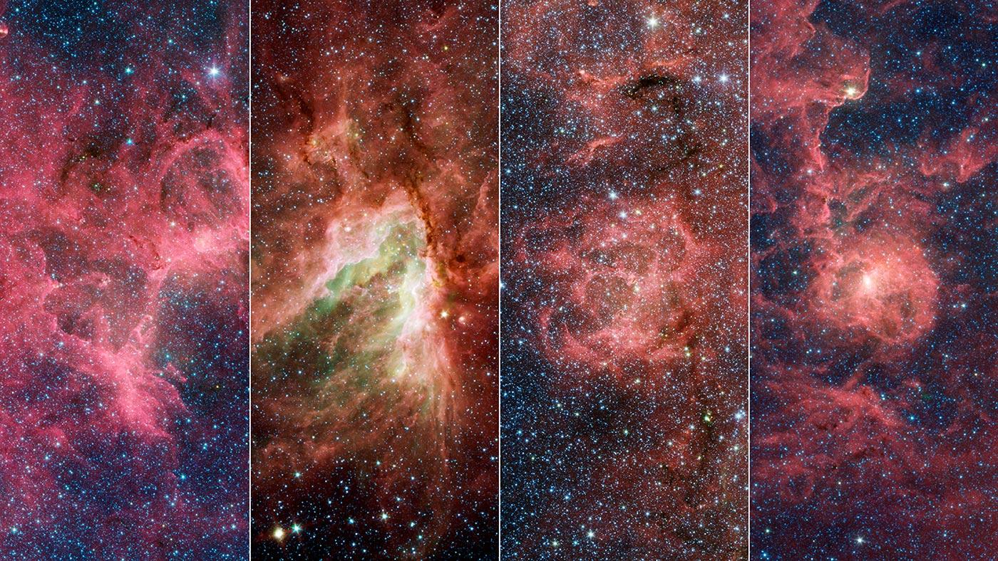 Nebulose Braccio Sagittario