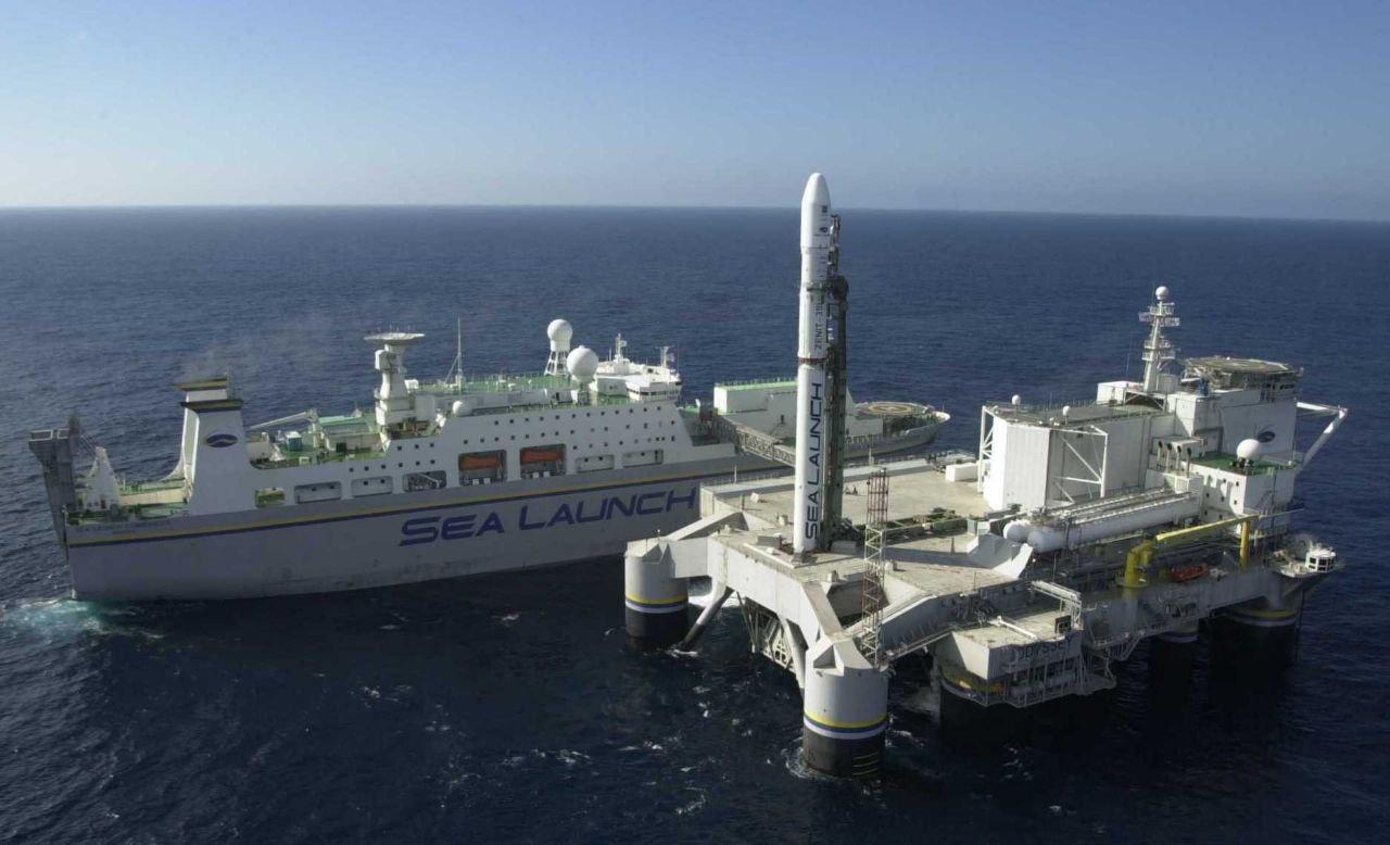 La piattaforma SeaLaunch