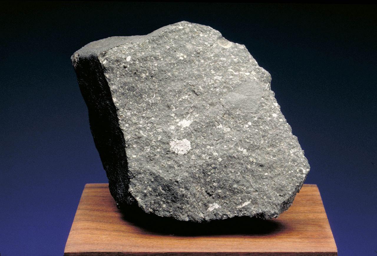 Un frammento del meteorite Allende