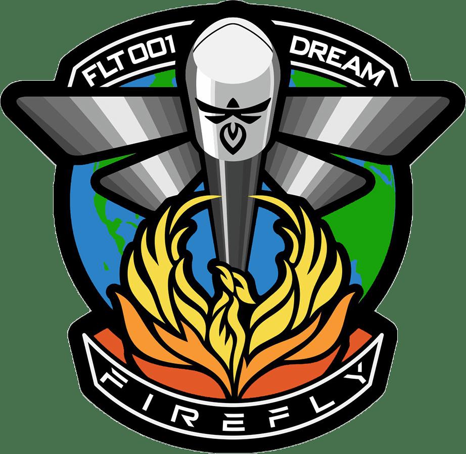 La patch del lancio DREAM di Firefly.