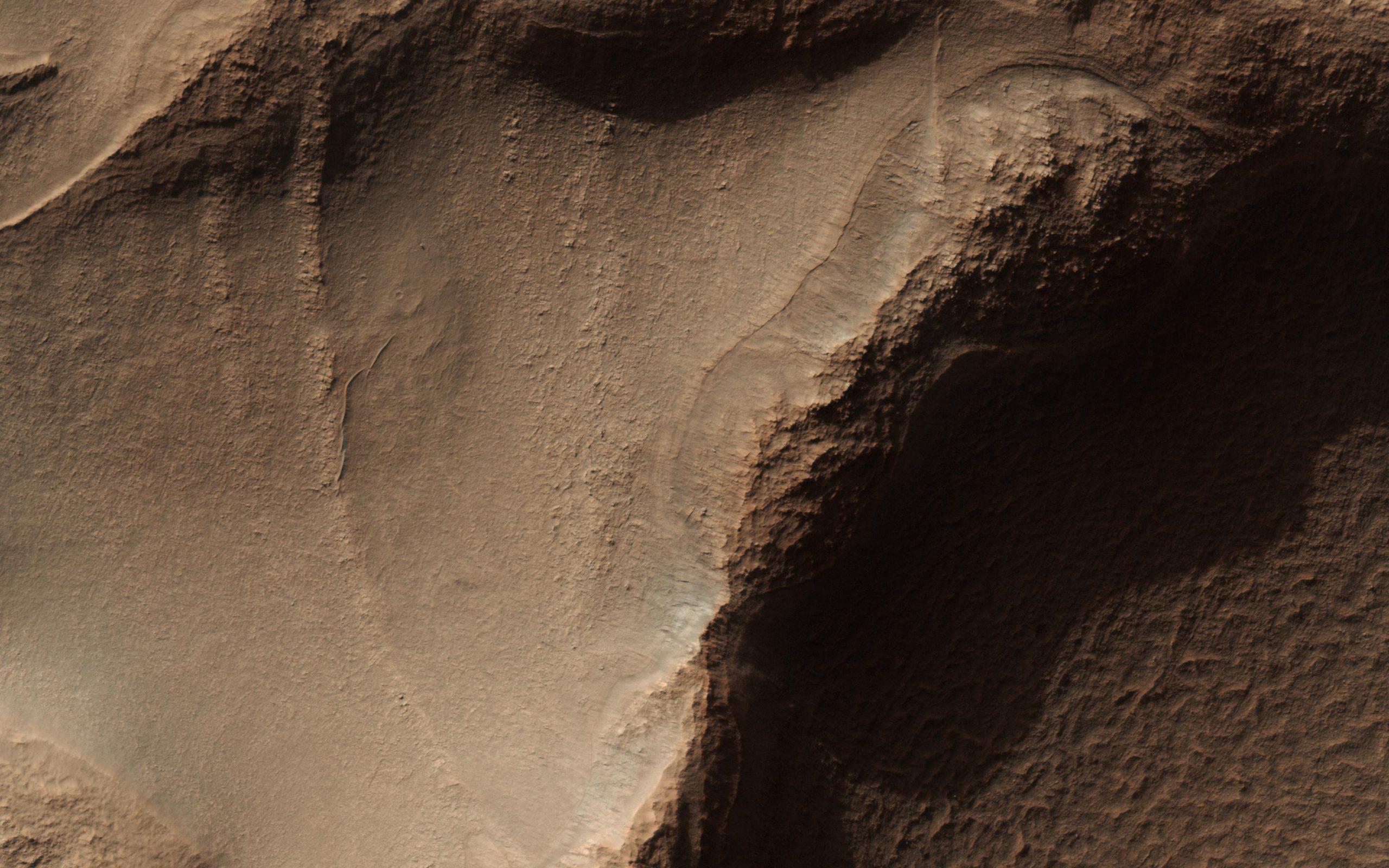 Porzione di terra di Hellas Planitia