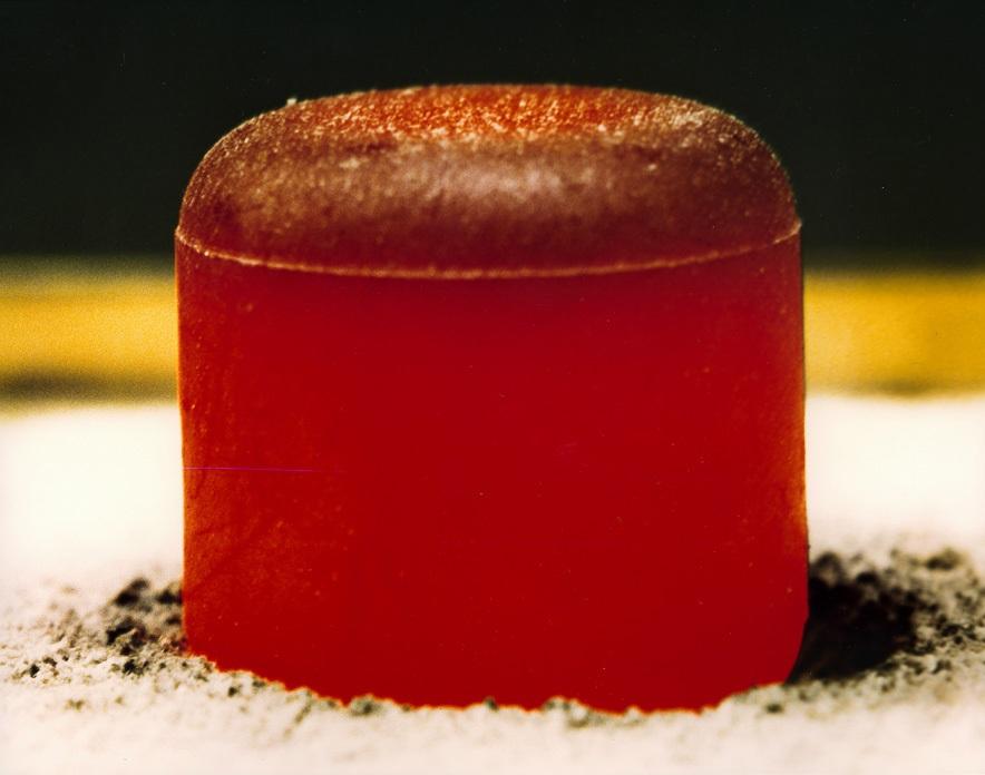 Un pallet di Plutonio radioattivo.